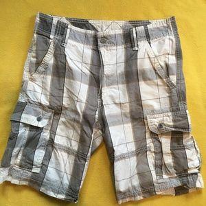 Levi's Men's Plaid Shorts **5 for $20**